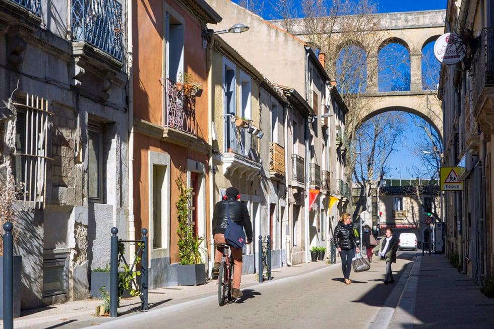 Quartier Arceaux Montpellier