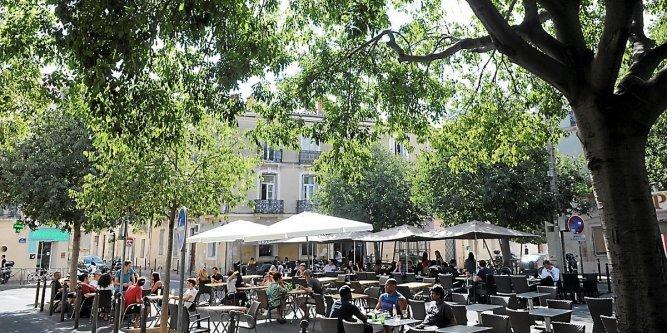 Quartier Beaux Arts Montpellier