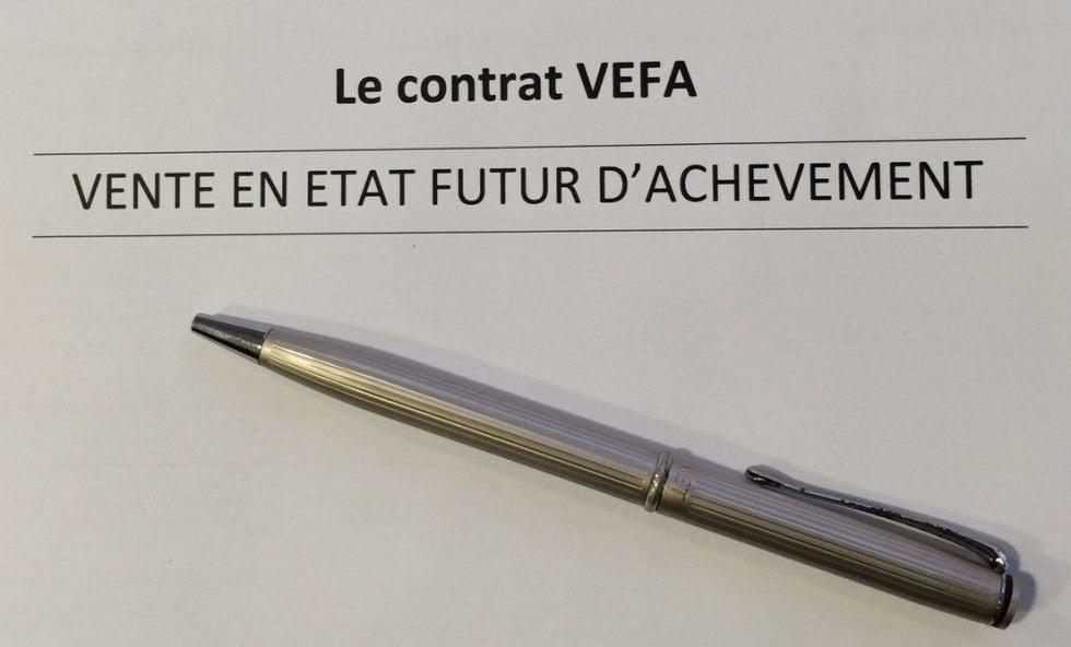 contrat de reservation vefa