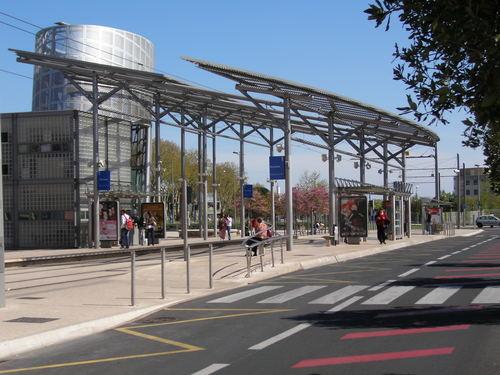 Quartier hôpitaux facultes Montpellier